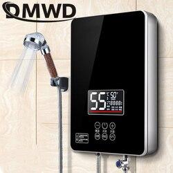DMWD 6000W Elektrische Boiler Instant Keuken Badkamer Onmiddellijke Tankless Verwarming Douche Gieter Kachels LED Display