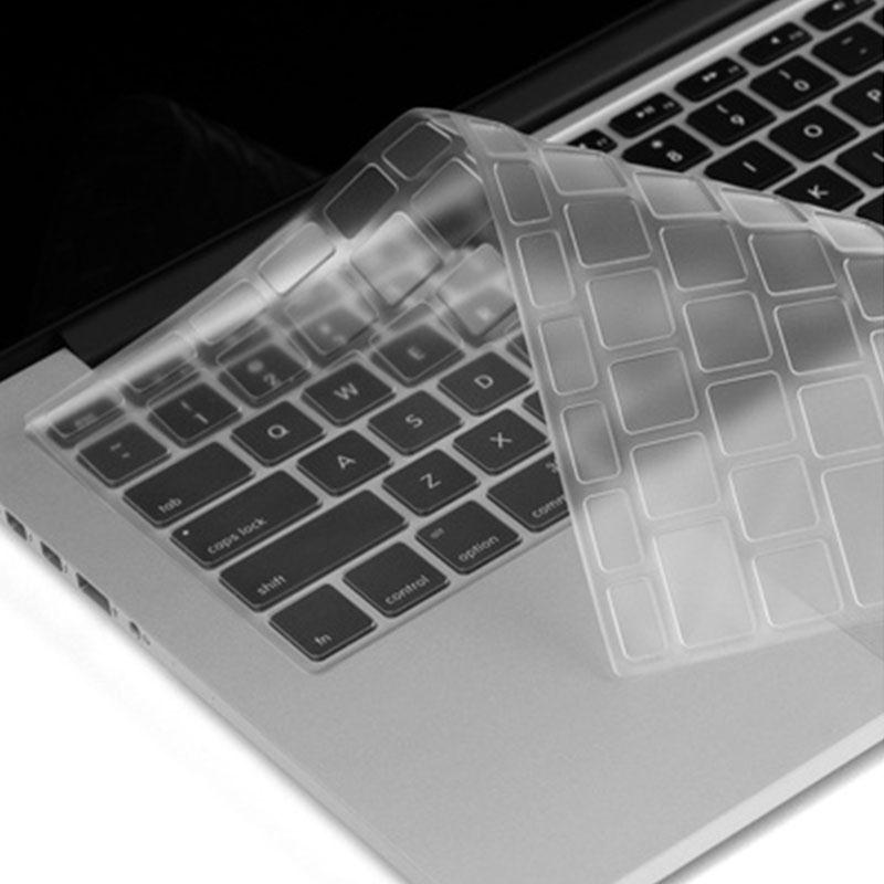 2017 UltraThin Clear Silicone Keyboard Cover TPU Silicon Protector Dustproof Cover Film For Apple Macbook Air 13 image