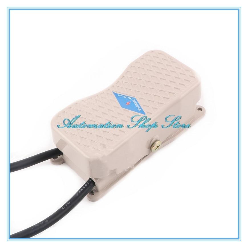 Противоскользящий ножной переключатель с ЧПУ, YDT1-20 101, 380 в перем. Тока, 15A, IP62