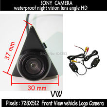 2 4 GHz wireless SONY CCD Car front view font b camera b font backup HD
