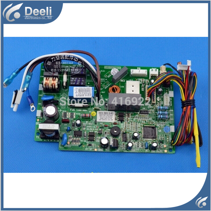 95% NEW for GREE air conditioner computer board M819F3A104 301381141 motherboard on sale wire universal board computer board six lines 0040400256 0040400257 used disassemble