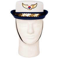 Game OW D.va DVA Policewoman Skin Cosplay Hats Heroine Strap Unisex Caps Girls Party Halloween Gift