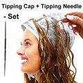 Geada cabelo & Tipping Cap + Agulha de Inflexão Set40010