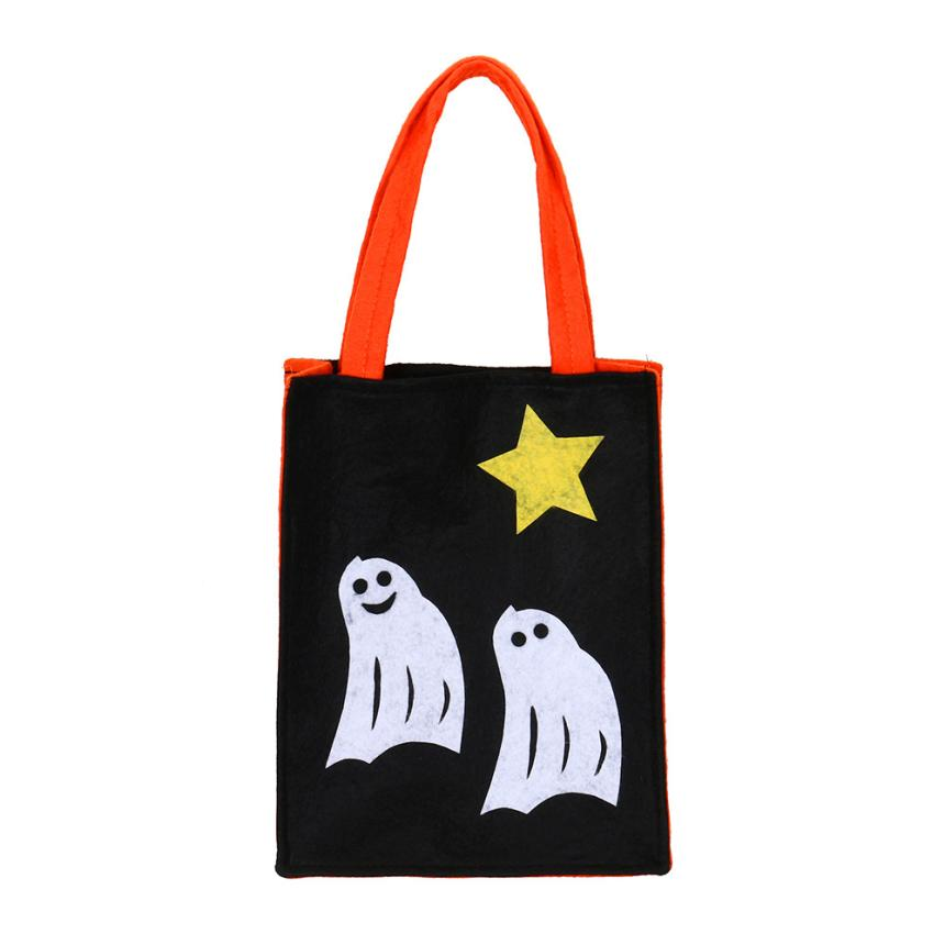 trick or treat candy bags halloween kids toys party halloween bags halloween pumpkin bag - Halloween Handbag