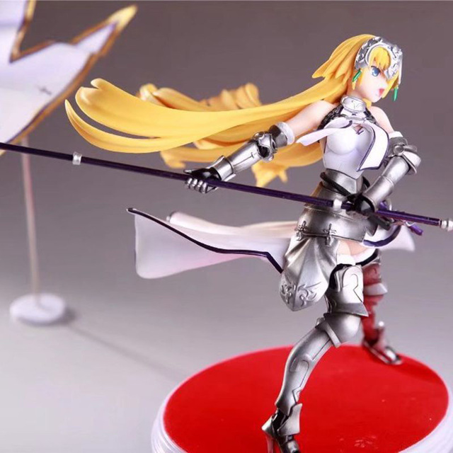 Fate Grand Order Joan of Arc Action Figure Waving Flags PVC Action Figure Collectible Model Toy no retial box (Chinese Version) 4