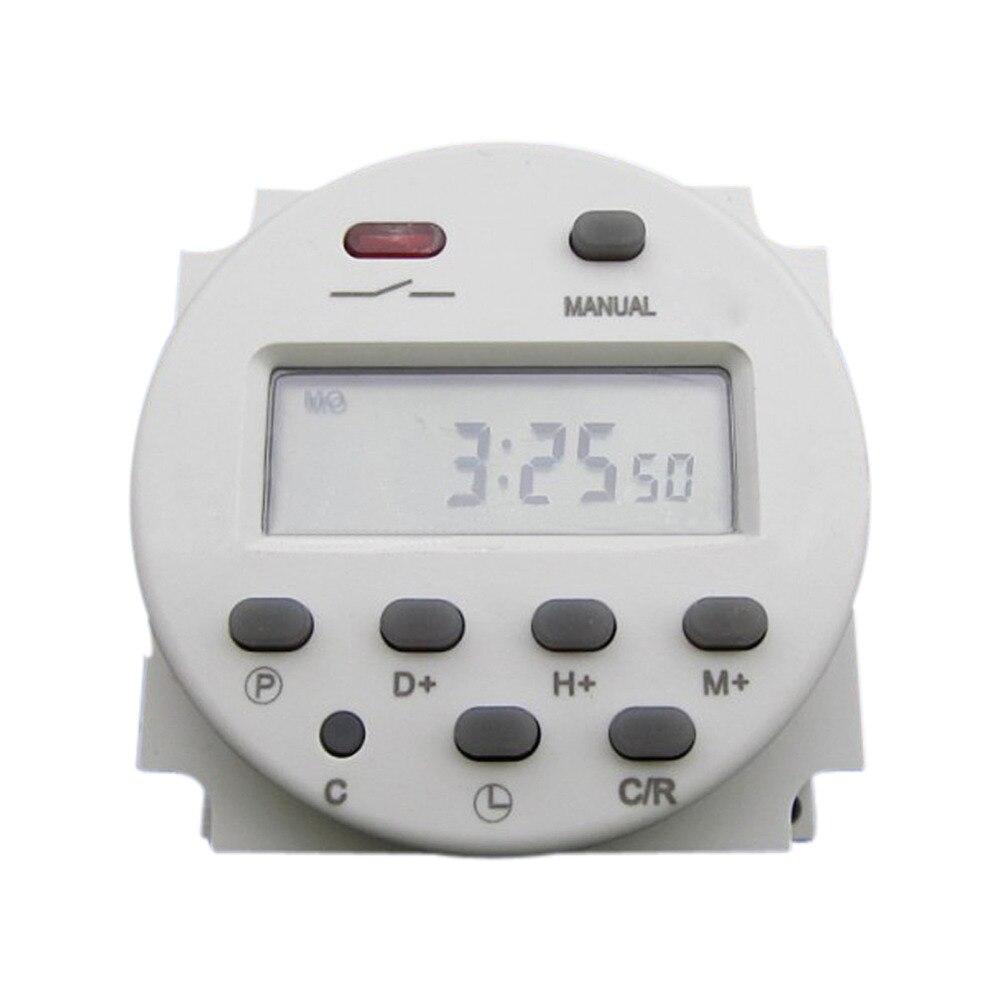 CN101 AC 110 V 16 A 40 mA LCD Digital Power Programmable Timer Time Relais interrupteur