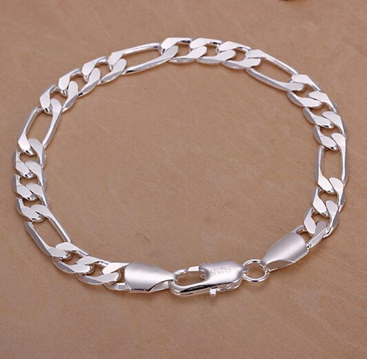 New Arrival Whole White Gold Color Fine Jewelry Yellow Men Bracelet Women In Chain Link Bracelets From Accessories On