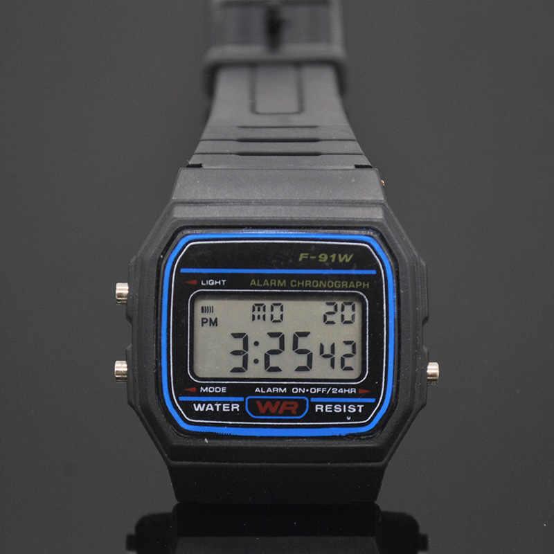 731f995332b bayan saatleri Fashion Silicone Watches Men Women Cheap Sport Watch  Electronic Digital Display Retro style Watch