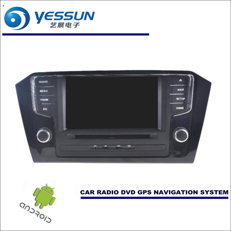 YESSUN Car Android Navigation System For Volkswagen VW Passat 2015~2017 Radio Stereo CD DVD Player GPS Navi HD Screen Multimedia yessun for mazda cx 5 2017 2018 android car navigation gps hd touch screen audio video radio stereo multimedia player no cd dvd