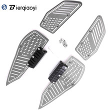 For YAMAHA XMAX 250 XMAX300 XMAX 400 X-MAX 250 XMAX 300 X MAX 400 2017 Motorcycle Footrest Footboard Step Foot Plate Pedal X MAX new motorcycle foot pegs for yamaha xmax 300 2017 2018 x max 250 300 footrest step pedal foot plate blue gold black red titanium