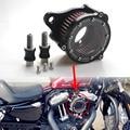 Nueva claro del filtro de aire + filtro de entrada de Syetem Rough artesanía Harley Sportster XL883 1200 2004-2015 envío gratis por encargo