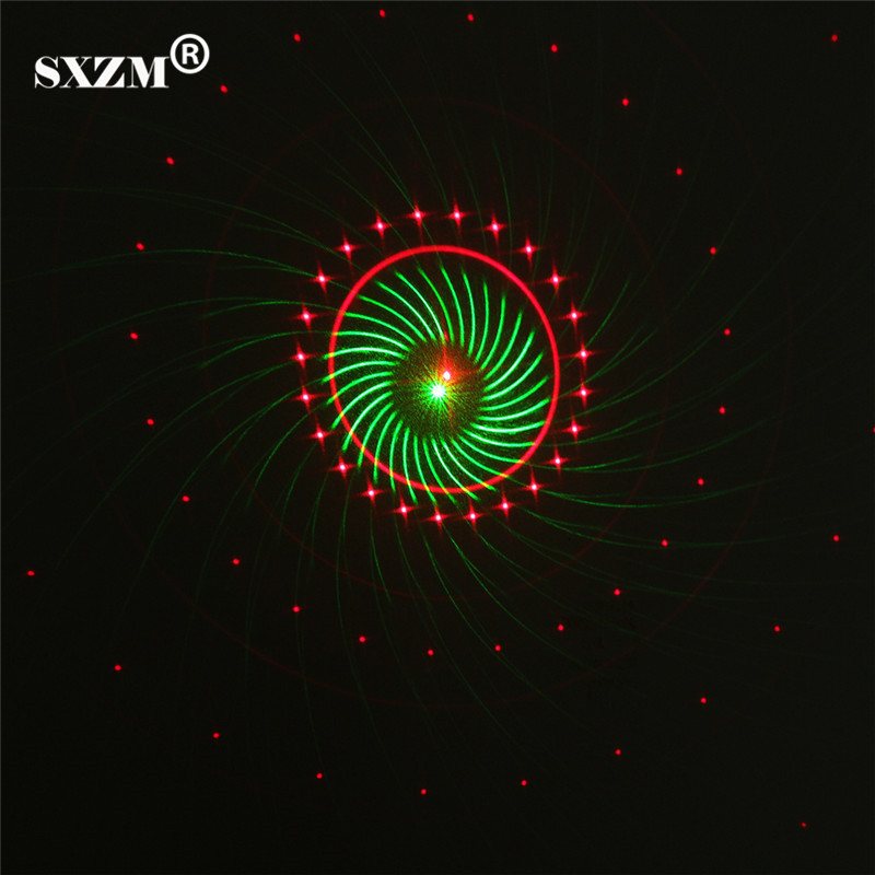 SXZM Indoor/Outdoor motion led laser light 9 Shapes red and Green lighting AC85-265V Christmas Decoration with Switch EU or US beautiful alumium ip67 outdoor eu us uk plug tree garden party festival christmas decoration green red mini led laser light