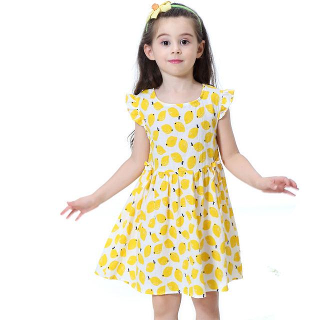 Vestido sin mangas para niña