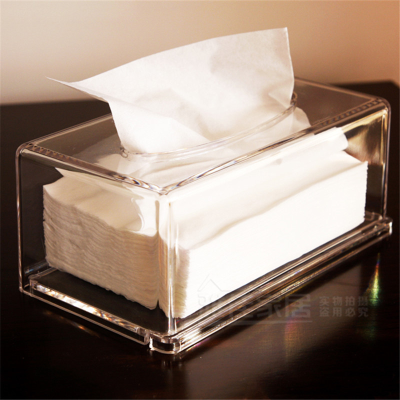 Acrylic napkin box : Aliexpress buy high grade acrylic napkin tissue box