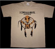 TOMAHAWK ANONYMOUS MIKE PATTON FAITH NO MORE MR.BUNGLE MELVINS NEW KHAKI T-SHIRT Tees Brand Clothing Funny T Shirt top tee