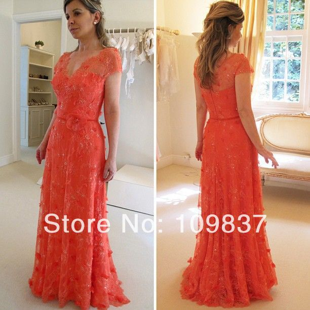 Collection Coral Dress With Sleeves Pictures - Reikian