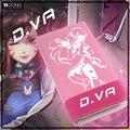 Anime Carteras Overwatch D. VA Estudiante Monederos Chicas Casual Largo Burse Monedero Carteras de Dibujos Animados de Moda Estilo de Muy Buen Gusto Bolsas dinero