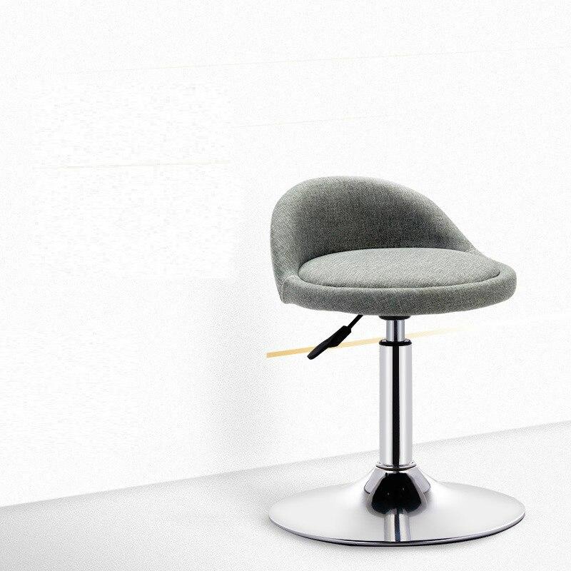 Beauty Massager Stool Bar Chair Lift Hairdressing Chair High Chair Front Desk Cashier Chair