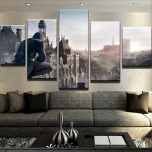 Assassin's Creed Game HD Print Painting 5 Pieces Home The Wall Art Paintings on Canvas Wall Art Living Room Modern Decor Artwork цены