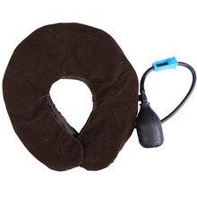 Мягкая для шеи Скоба воздуха приспособление для Шеи Головная боль в спине плечо устройство для снятия шейки матки удобный массаж шеи поддерживает
