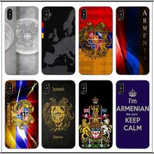 2d81e9c380 kxdnteam Love Armenia Flag Soft TPU Silicone for iPhone 8 7 6 6S Plus X 5  5S SE