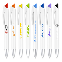 500 pcs/lot Plastic promotional pens for writing custom logo gift ballpen