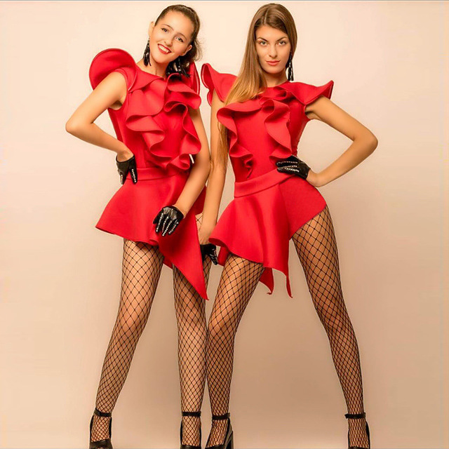 Nightclub Ds Show Dress New Night Bar Leading Dancing Sexy Woman DJ Suit Jazz Annual Meeting Stage Costume