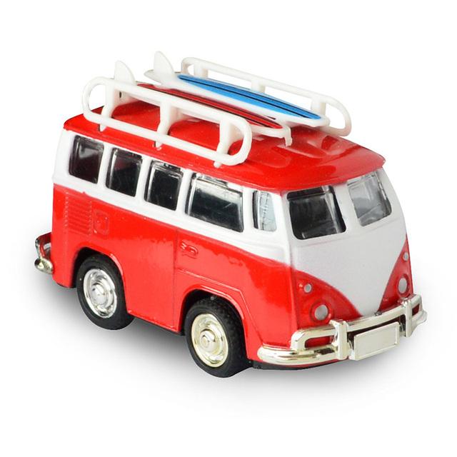 Kids Retro Metal Van Toy
