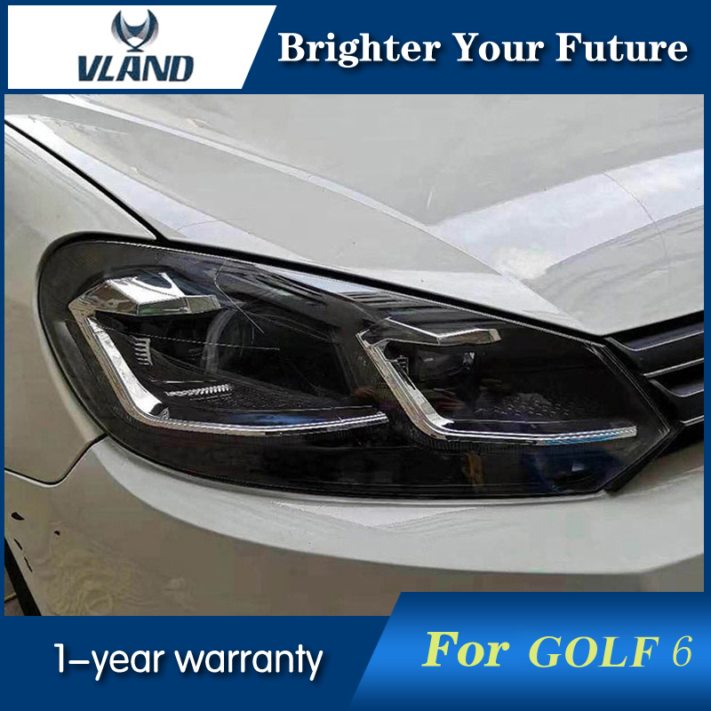 Phare de Style 7.5 pour VOLKSWAGEN Golf 6 GTI MK6 phares 2009-2012 FPhare de Style 7.5 pour VOLKSWAGEN Golf 6 GTI MK6 phares 2009-2012 F
