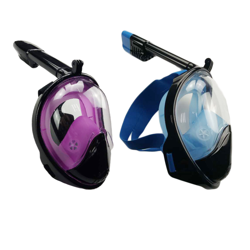 ФОТО 2017 New Full Face Scuba Diving Masks Snorkeling Swimming Equipment Underwater Sport With An Antifoggant Agent For Gifts