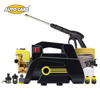 AutoCare Car Washer 220V Induction Copper Motor High Pressure Cleaner Tap Self Suction Portable Washer