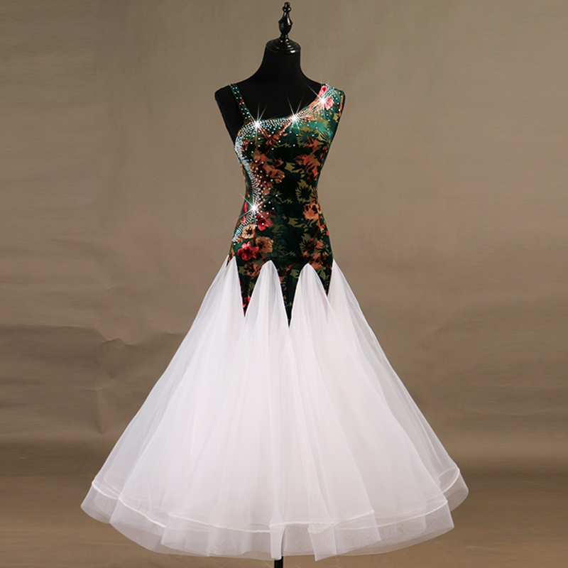 2018 modern ballroom dance competition dresses waltz standard ballroom dress women girls ballroom dance dresses