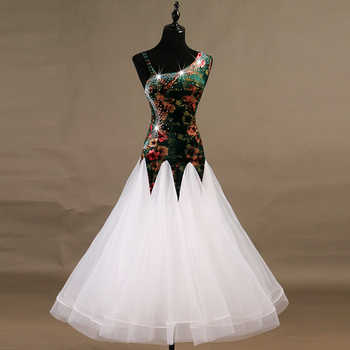 2018 modern ballroom dance competition dresses waltz standard ballroom dress women girls ballroom dance dresses - DISCOUNT ITEM  15% OFF All Category