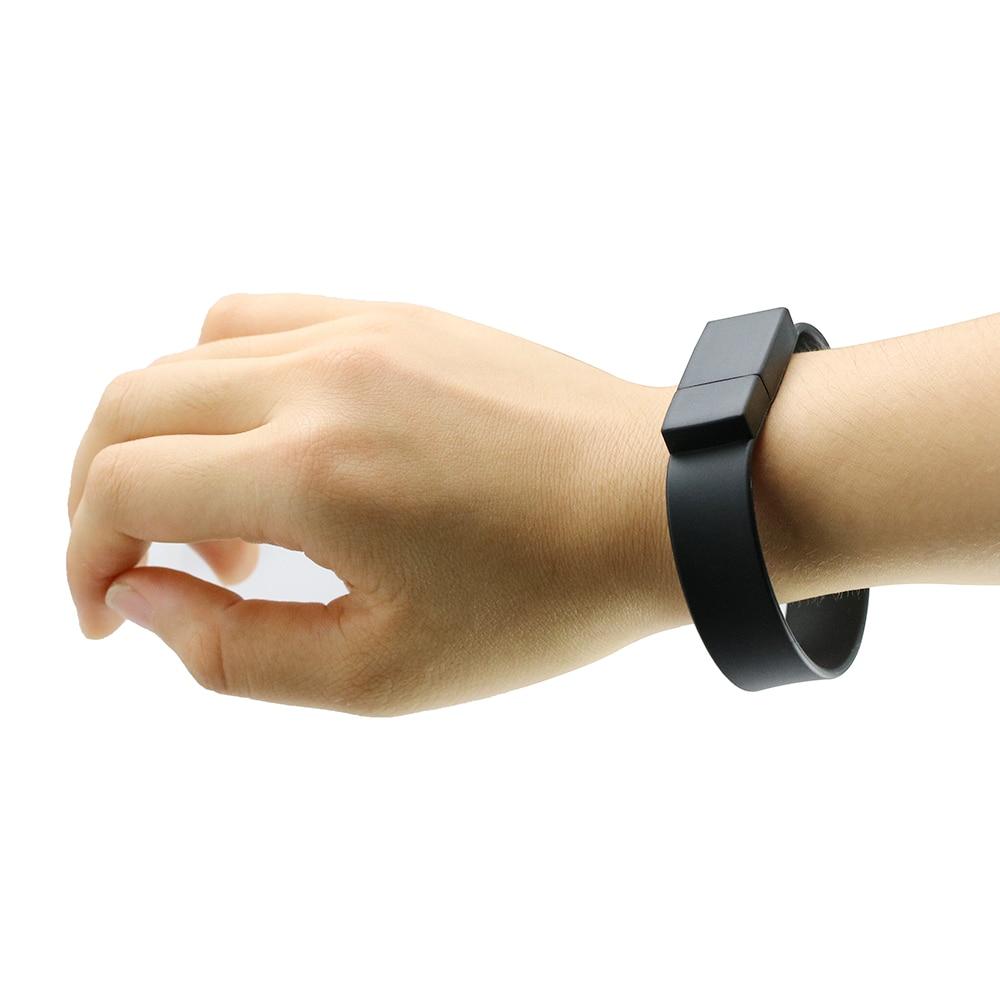 Usb-flash Colorful Silicone Gelang Wrist Band 4 GB 8 GB 16 GB 32 GB - Penyimpanan eksternal - Foto 4