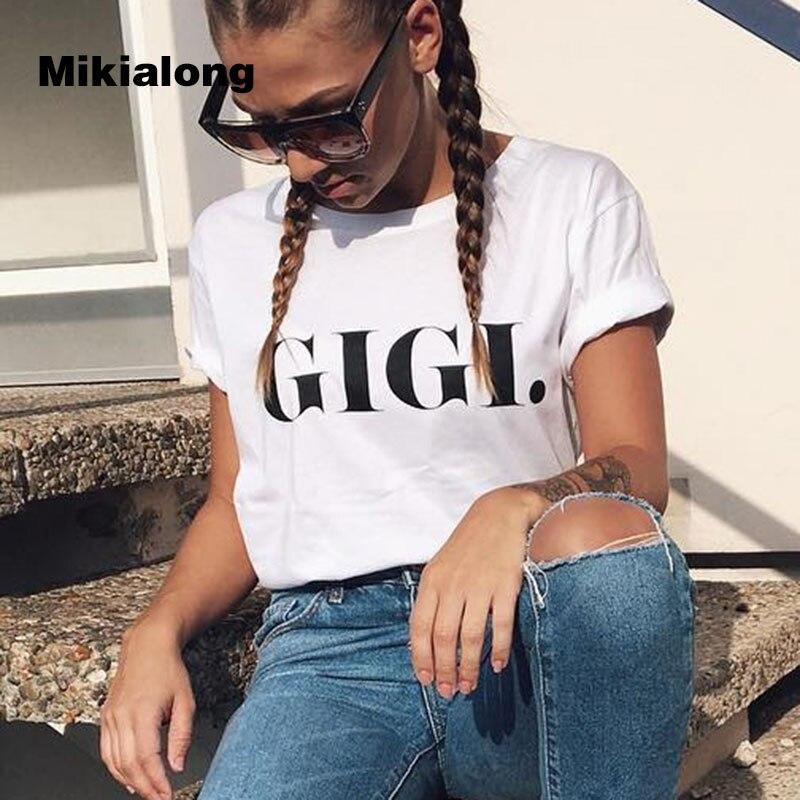 Punk Rock T shirt Women 2017 Summer Top Tee Shirt Short Sleeve Women T Shirt GIGI