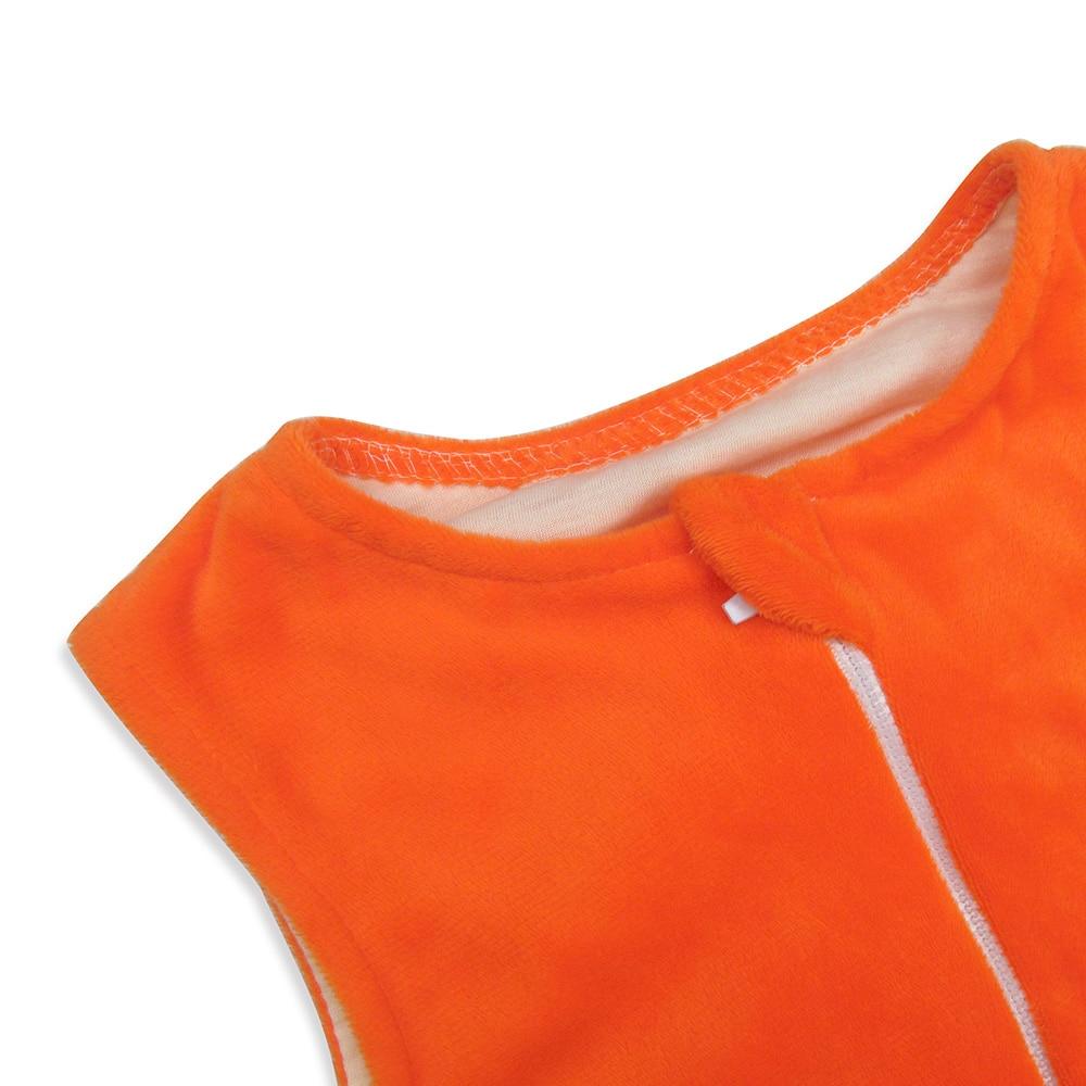 Infant sleeveless flannels vest warm sleeping bag straddle Children gift free shipping 2
