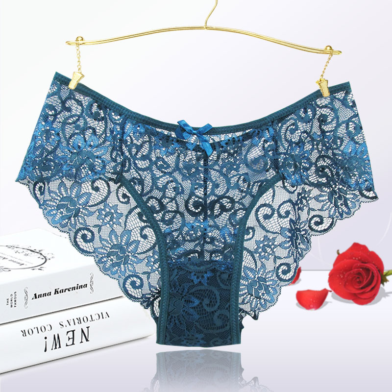 Fashion Sexy   Panties   Comfortable Briefs Exquisite Crotchless Shorts Solid Lingerie Sexy Hollow Out Underwear Women Dropshipping