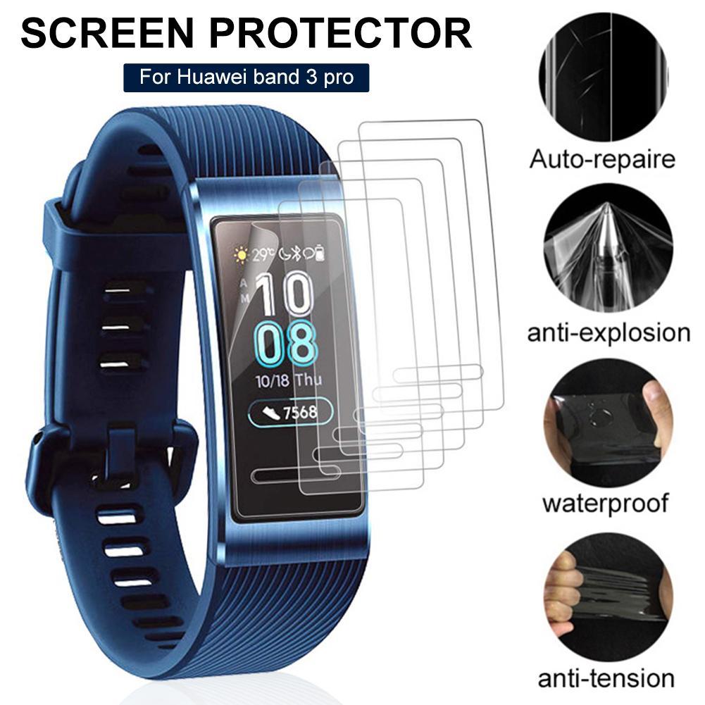 3шт мягкий тпу прозрачный защитная пленка для экрана защитная пленка Huawei группа 3 Pro падение уст ✔