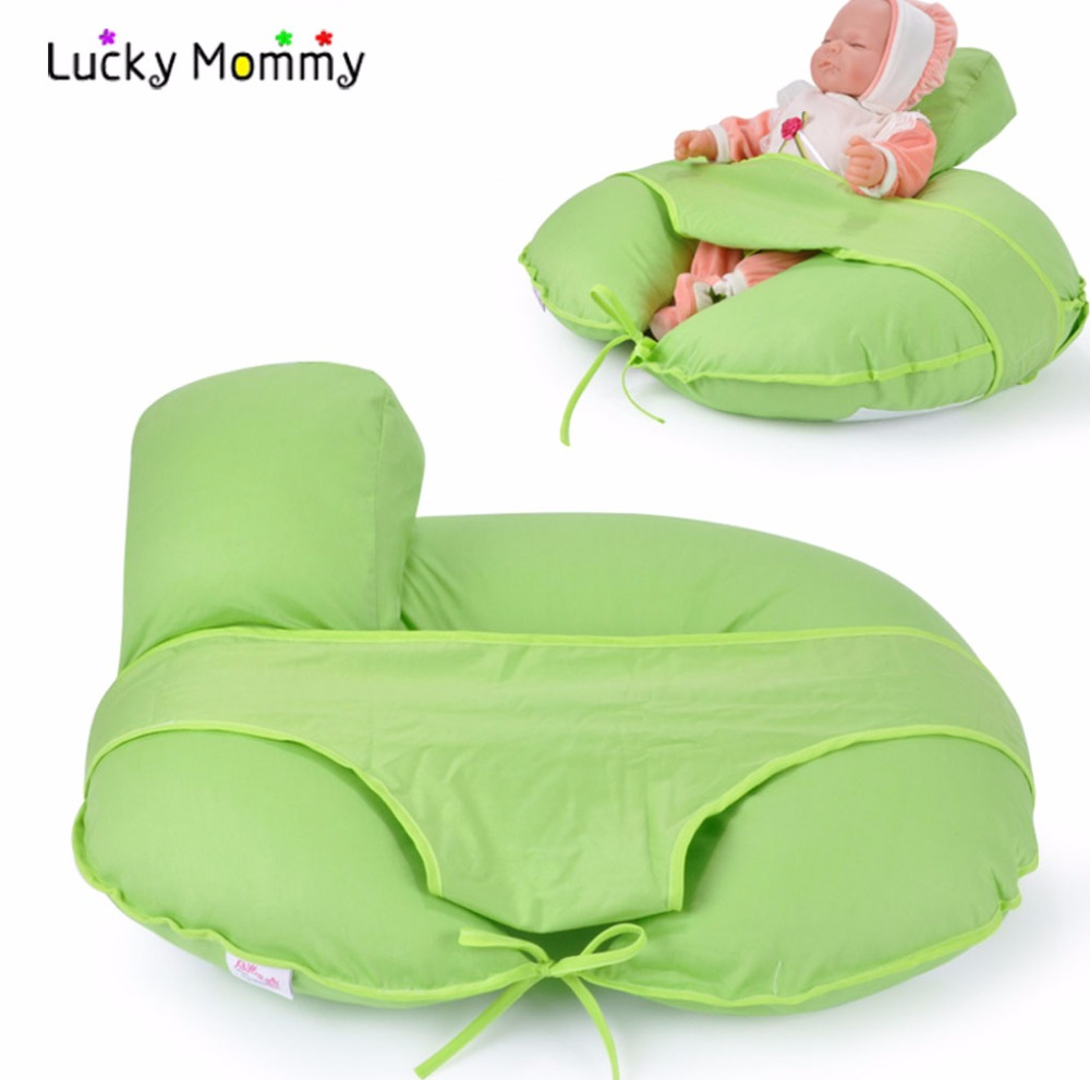 Baby Nursing Pillow Breastfeeding Versatility Learn To Sit Pillow Cushion Multifunction Cotton Cute Breast Feeding Pillows waist support baby nursing breastfeeding pillow soft baby learning sit pillow multi function baby pillows almofada infantil