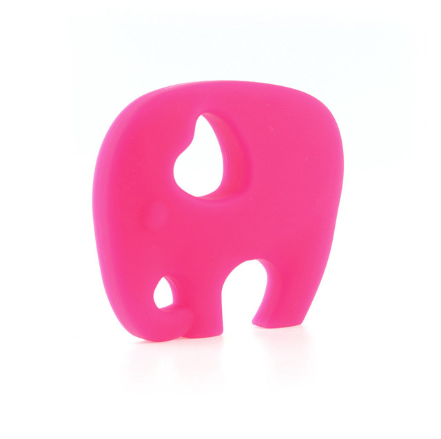 Elephant Shaped Silicone Baby Teether