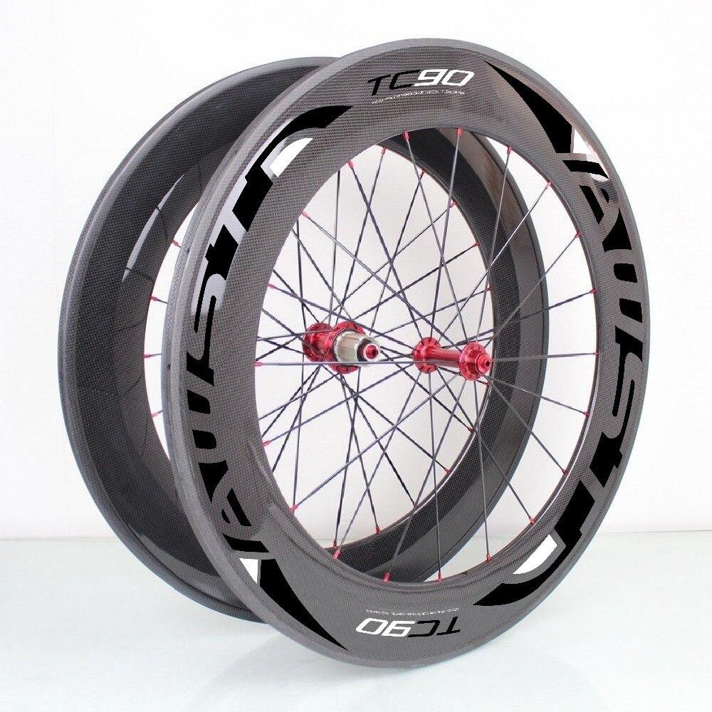 Roda carbon 700C wheels 88mm carbon road bike wheels clincher tubular U-shape with powerway R13 hub Basalt brake surface wheels