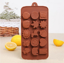 South Korea fashion style silicone cake mould Accord to the food safety certification chocolate moul(ch003)