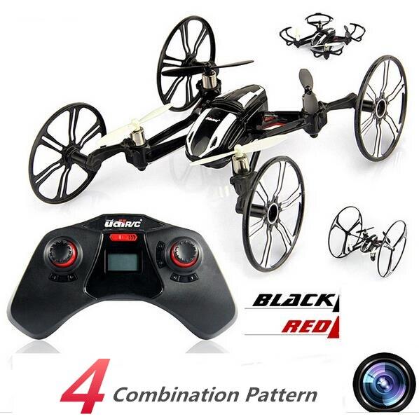 Mini Drones Con Cámara HD Helicóptero Volando Escalada Runnig Dron 6 Axis Gyro R