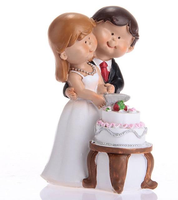 Hot sale Cartoon wedding Cake Topper Decoration Bridal Party cake ...
