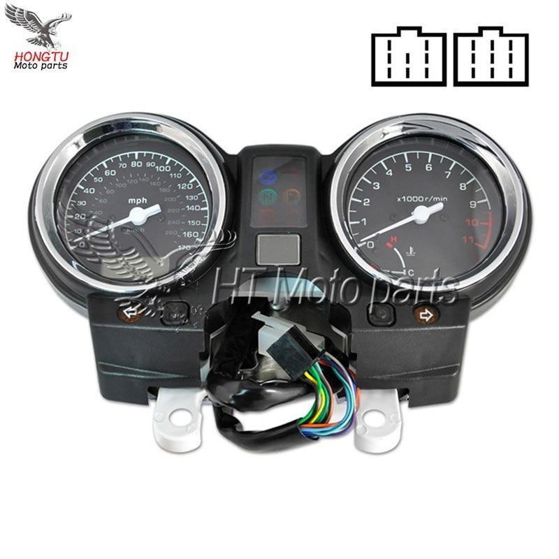 Gauges Cluster Speedometer Tachometer Meter Odometer Instrument Assembly For Honda Hornet 900 CB919 CB900 2002 2007
