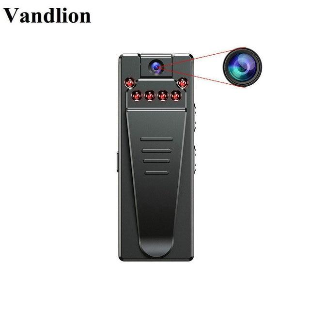 Микро видеокамера Vandlion A7 с диктофоном, сетевая Инфракрасная камера с функцией ночного видения, диктофон с зажимом для автомобиля