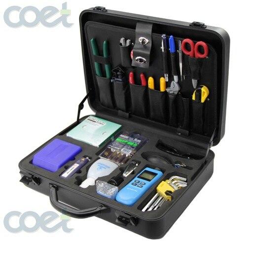 Fiber Toolkit KomShine KFS 35E Basic Fiber Optic Tool Kit with FC 6S Cleave Fusion Splicing