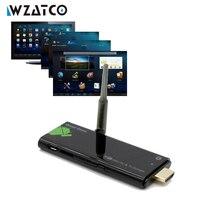 Độ phân giải 4 K Bluetooth Mini PC Android 4.4 1080 P RK3229 quad Core DDR3 2 GB RAM 8 GB Flash thông minh thanh truyền hình tv dongle
