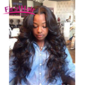 Full Frontal Lace Closure 13x4 With Bundles Malaysian Body Wave 3 Bundles Weave With Frontal Silk Base Closure With Bundles