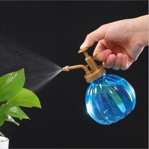 Image 2 - 350ML Plant Flower Watering Pot Home Spray Bottle Garden Hand Press Water Sprayer Plastic Bonsai Sprinkler Bottle Container